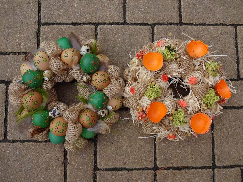 jarní velikonoční věnce-11