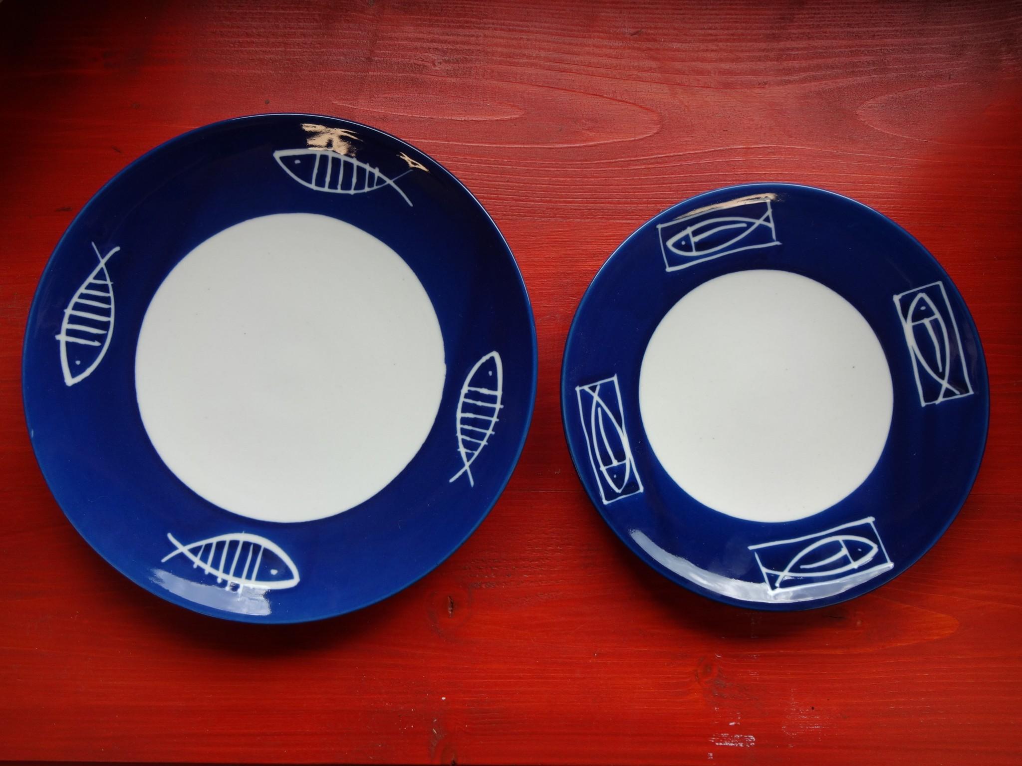 talíř mělký a dezertní
