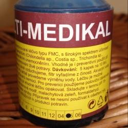 Antiparazitární a protiplísňové přípravky